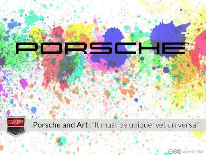 Porsche and Art