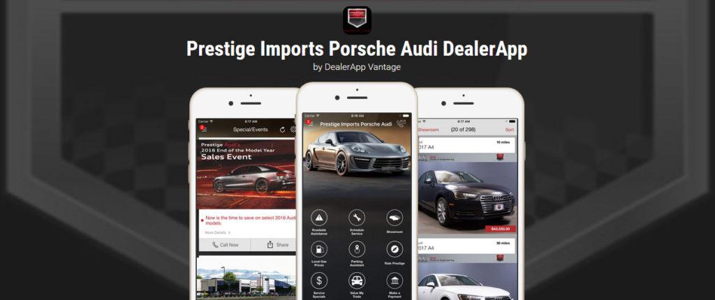 Prestige Imports Porsche Audi Dealer App - Porsche & Audi Dealer in Denver, CO