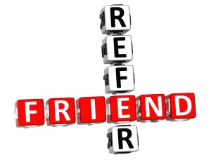 3D Refer a Friend Crossword - Vehicle Purchase Referral Program - Denver Porsche and Audi Dealer