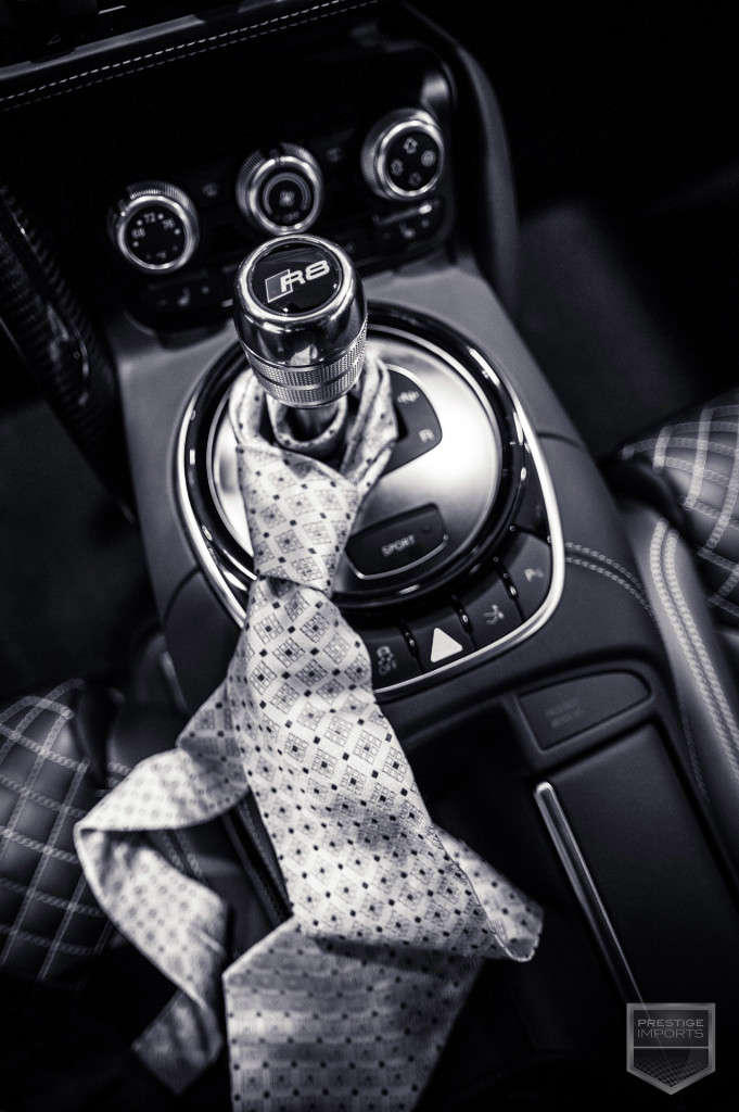50 Shades - R8 Gear Shift and Tie