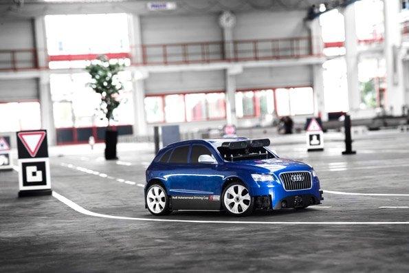 Piloted model Audi