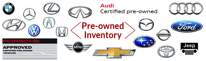 View used car inventory