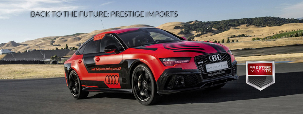 This Audi RS7 Should have been in Back to the Future II