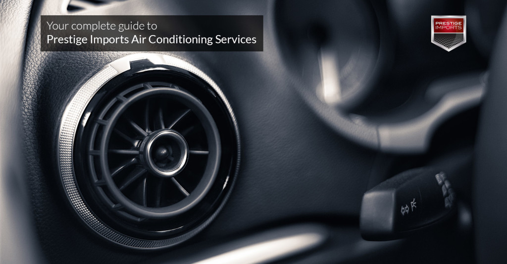 Porsche and Audi Air Conditioning Services