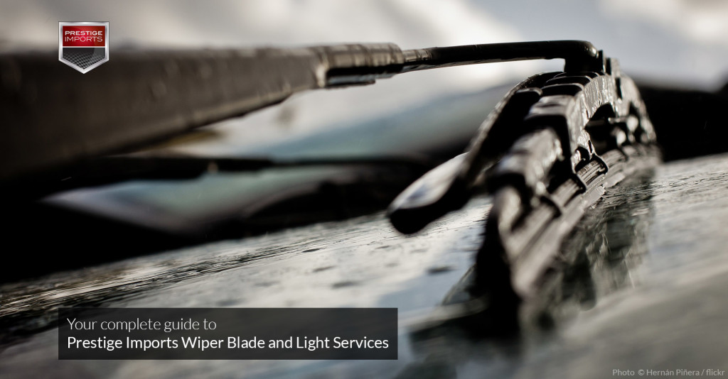 Your Complete Guide to Porsche and Audi Wiper Blade and Light Services