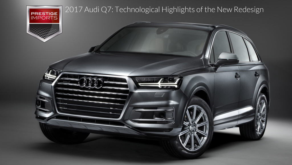 2017 Audi Q7: Technological Highlights of the New Redesign