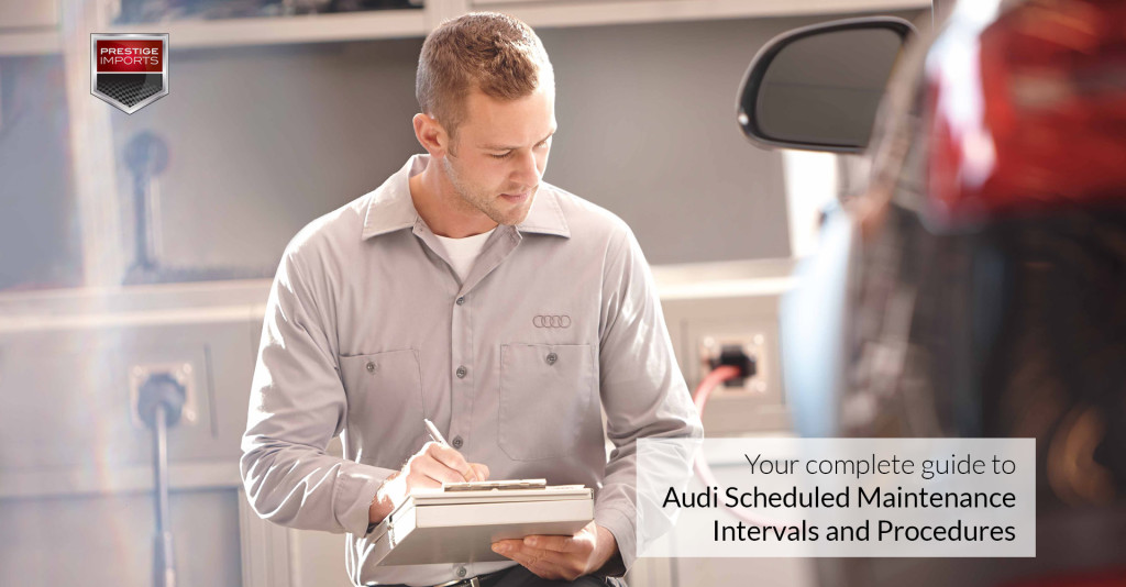 Your Guide to Audi Scheduled Maintenance Intervals and Procedures