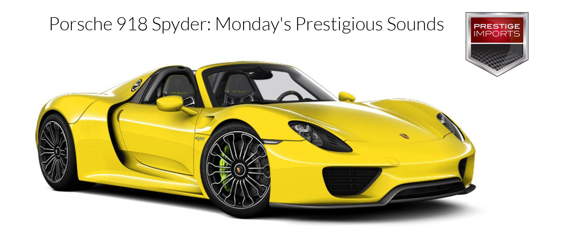 Porsche 918 Spyder: