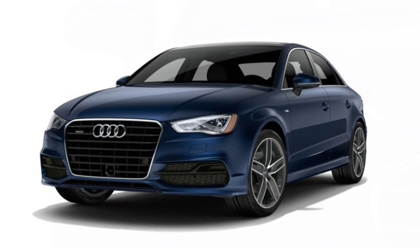 2016 Audi A3 front driver view