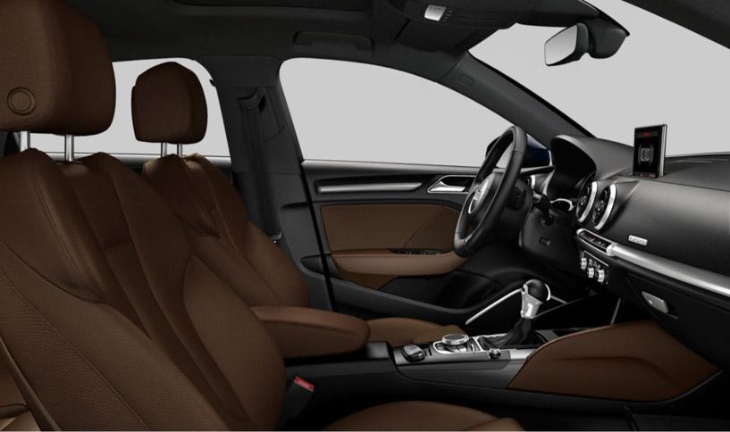 2016 Audi A3 cabin