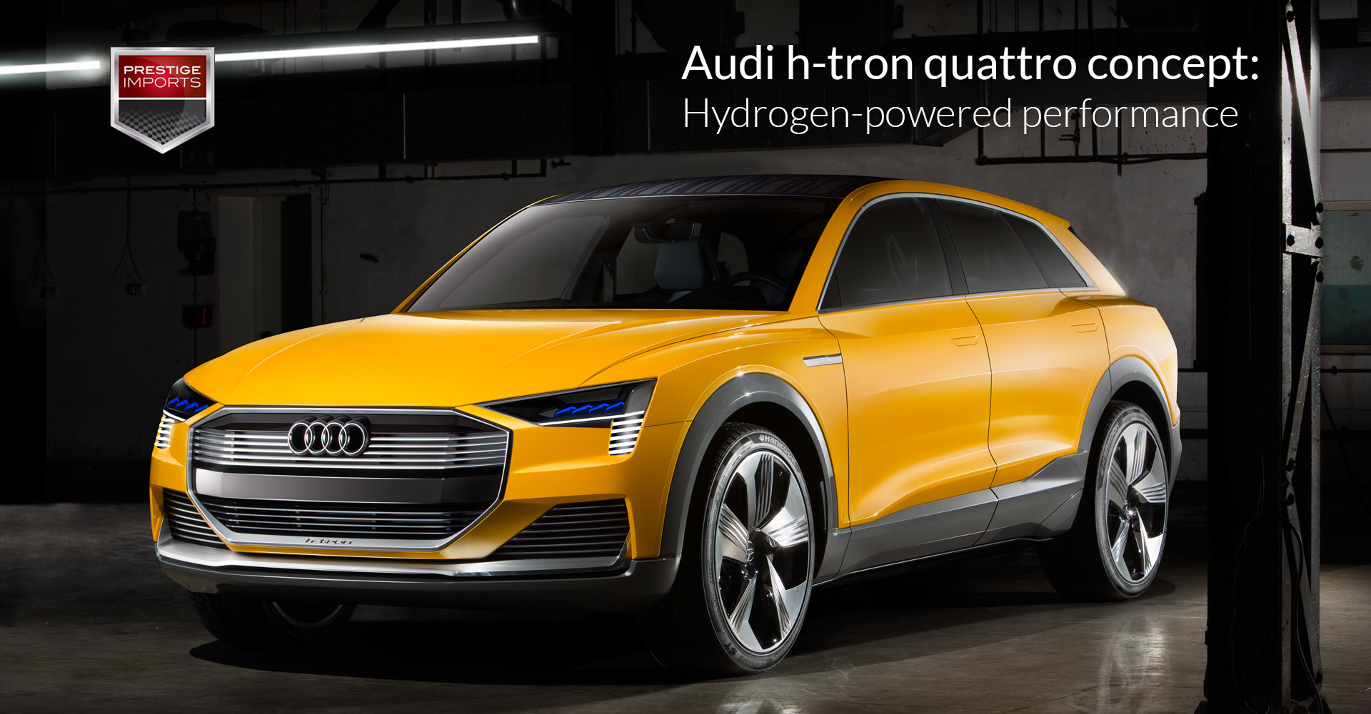 Audi h-tron quattro concept - Hydrogen-powered performance