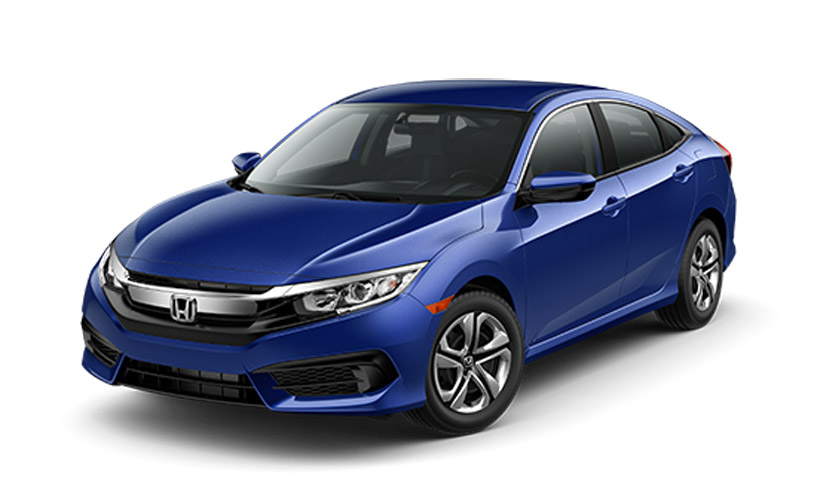 2016 Honda Civic front driver view