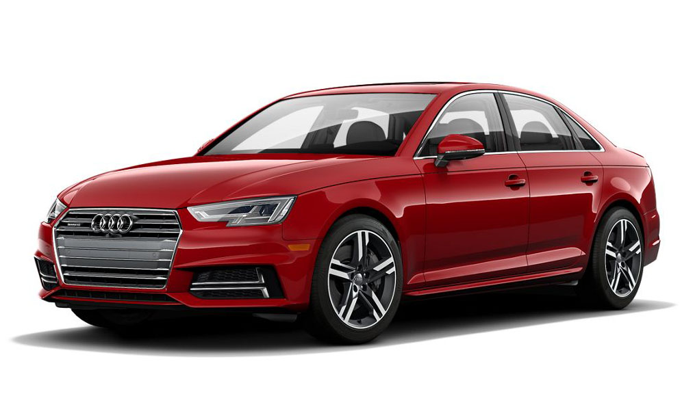 2017 Audi A4 - Front Driver's three-quarter view