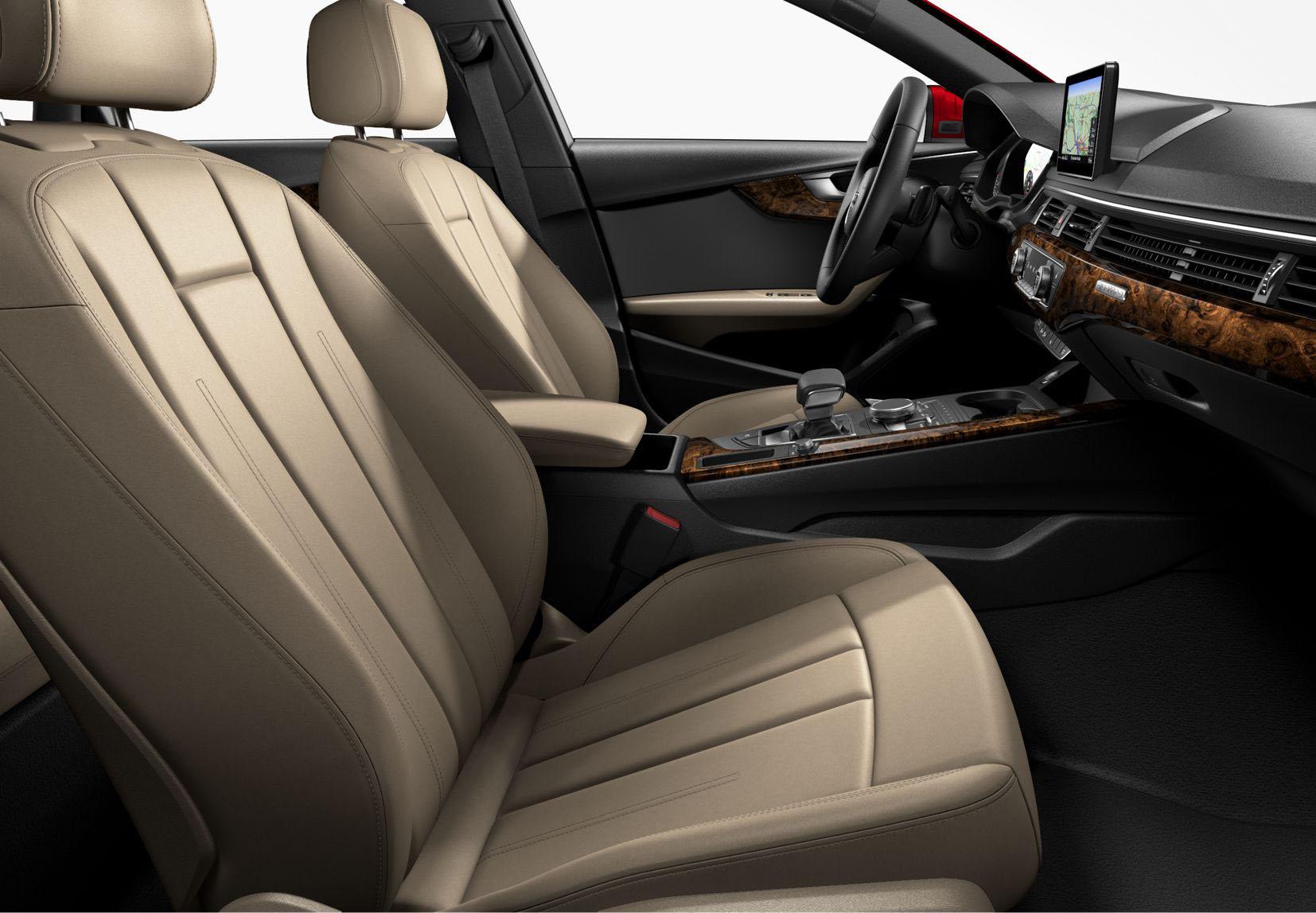 2017 Audi A4 Interior - Front seats