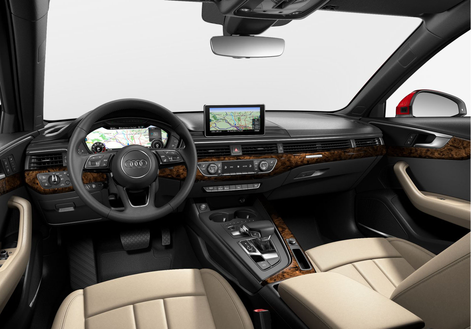 2017 Audi A4 Interior - Dashboard