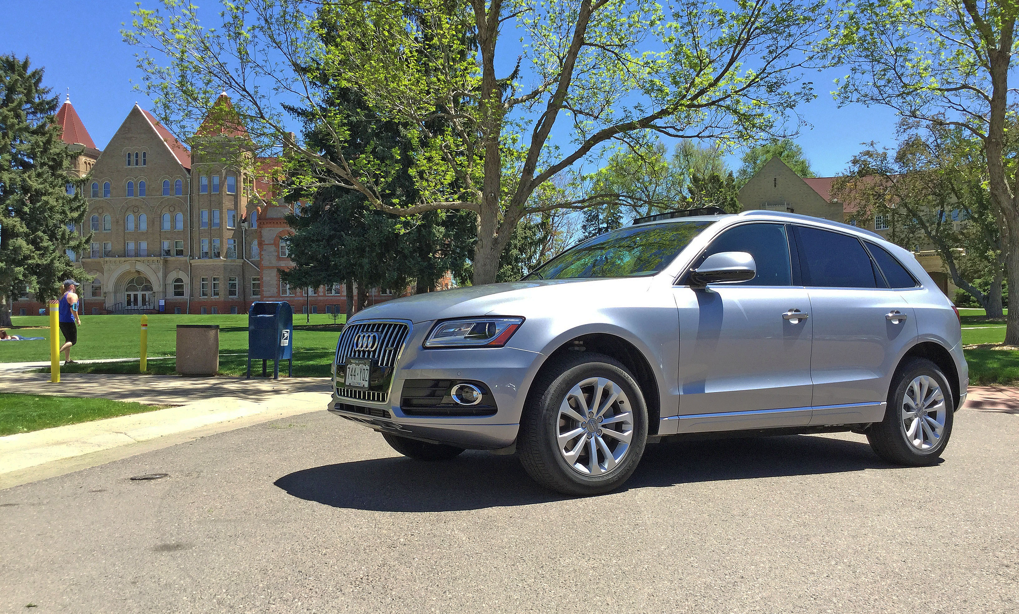 Denver's South Park Hill Neighborhood and the Audi Q5