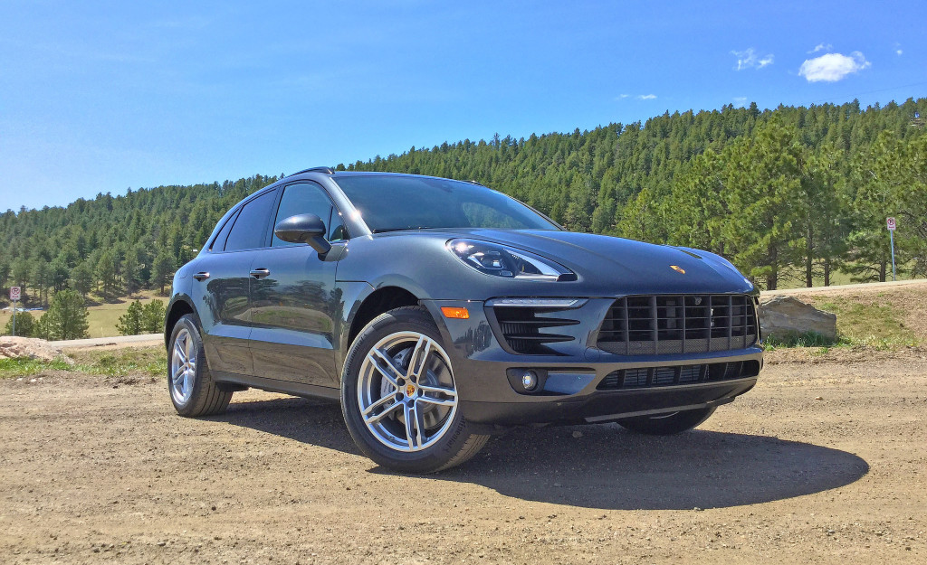2017 Porsche Macan S Review - The Porsche Macan parked in the mountains on a beautiful Colorado afternoon.