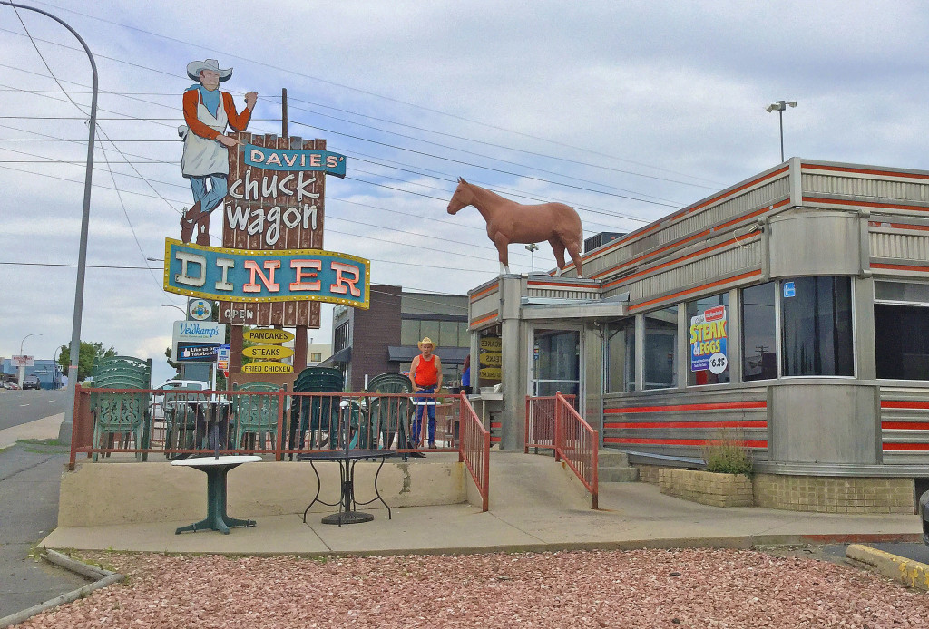 Davies Chuck Wagon Diner on West Colfax and Hoyt Street in Lakewood, CO