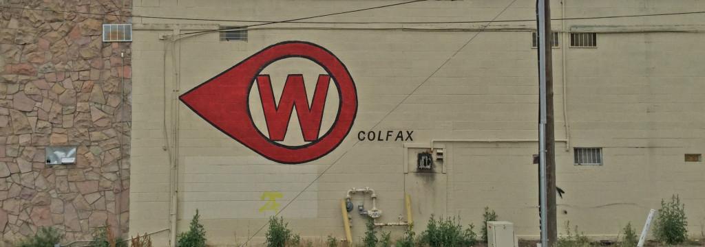 West Colfax graffiti in Denver, CO