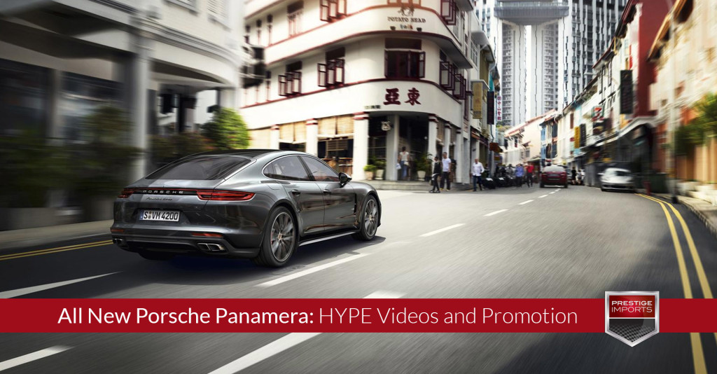 All New Porsche Panamera - HYPE Videos and Promotion