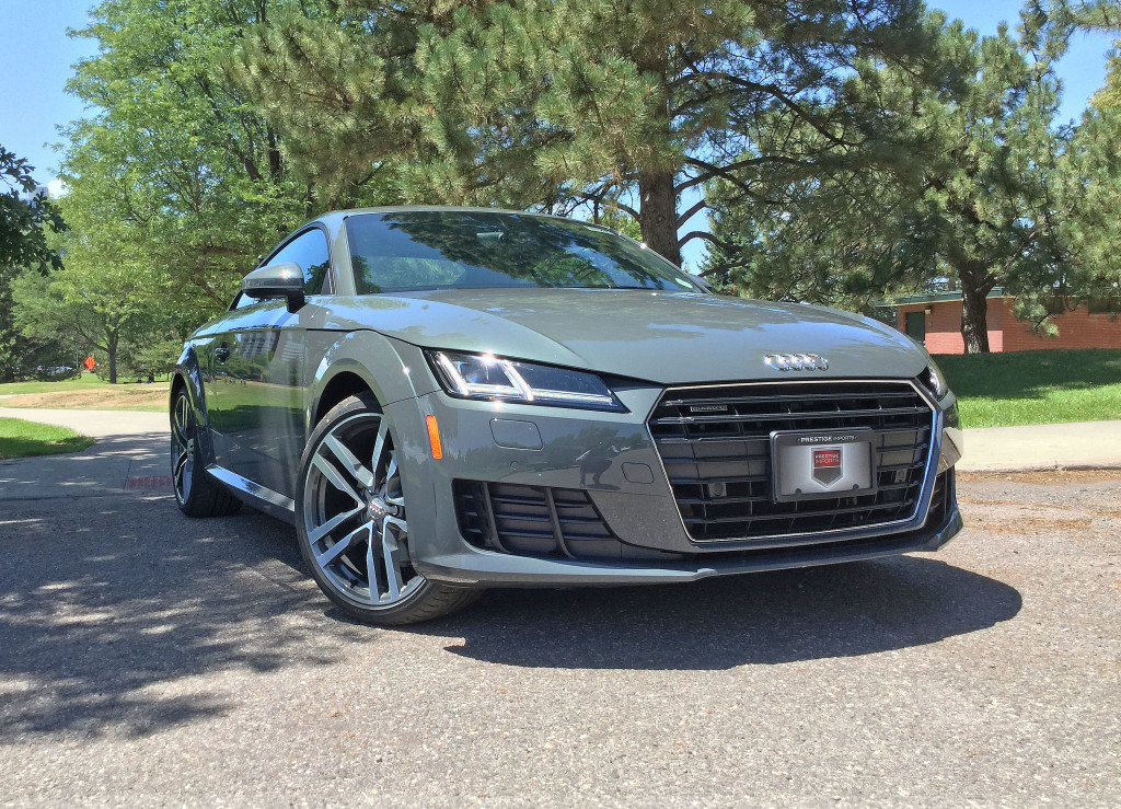 2016 Audi TT at Pulaski Park in Denver's Cherry Creek neighborhood