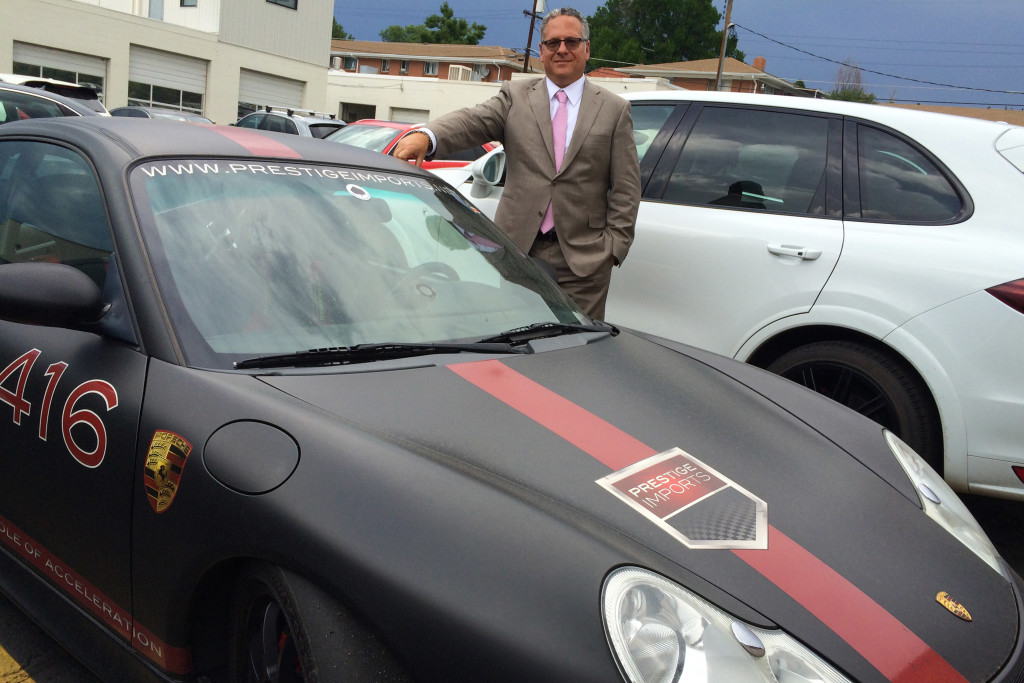 Jeff Silverberg and Prestige Imports' 2004 Porsche 911 GT3 Race Car