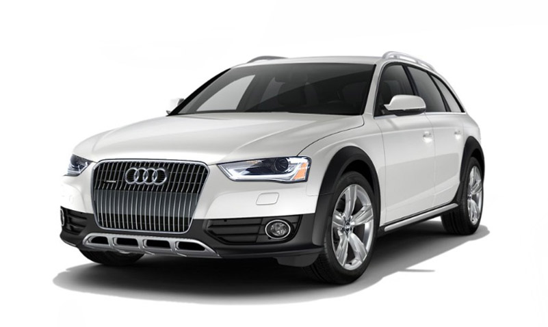 2016 Audi allroad front view