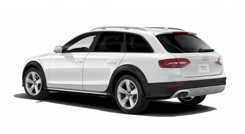 2016 Audi allroad rear view