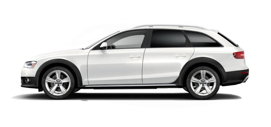 2016 Audi allroad side view
