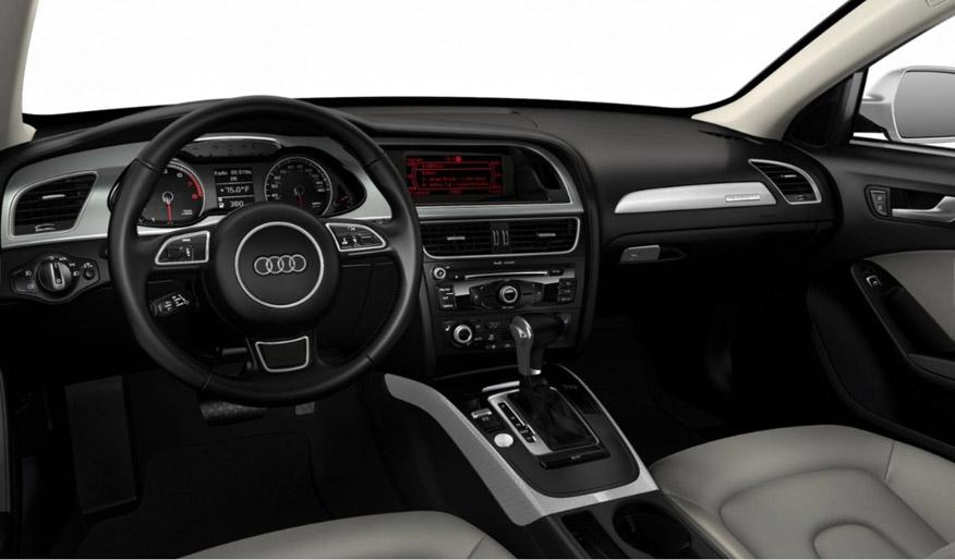 2016 Audi allroad dash view