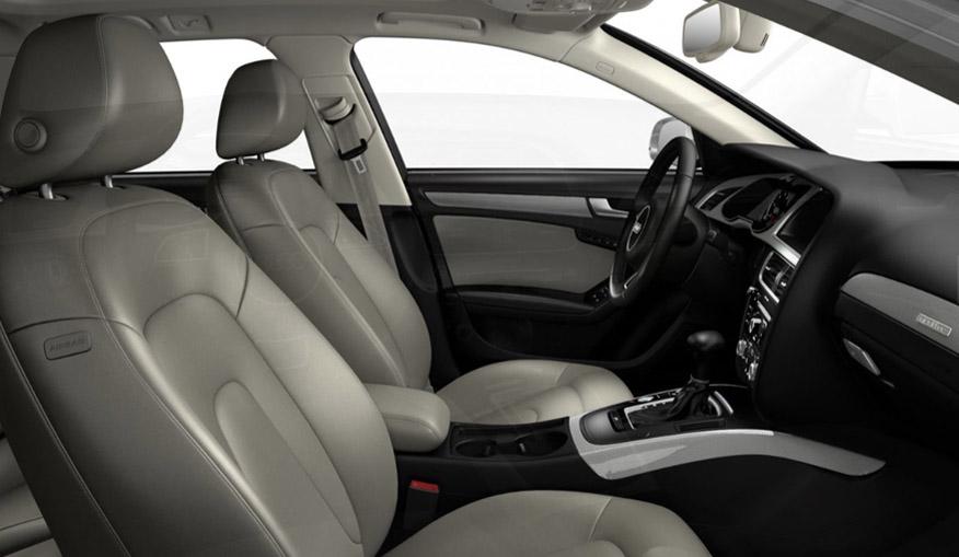 2016 Audi allroad interior view