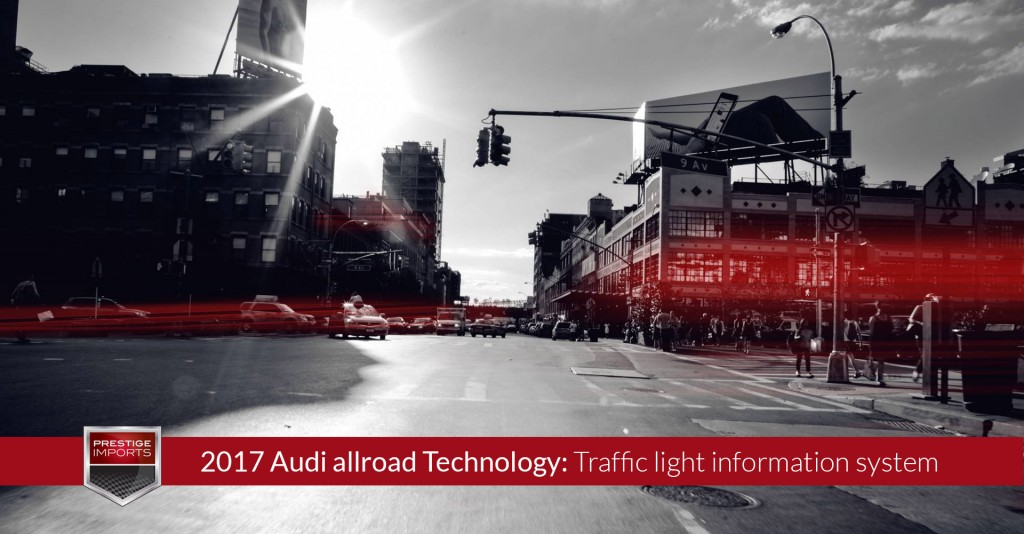 2017 Audi allroad Technology - Traffic light information system