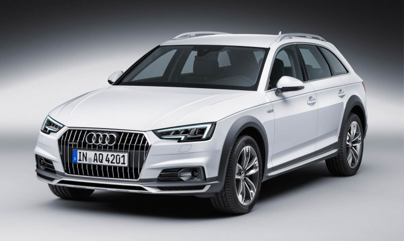 2017 Audi A4 allroad front view