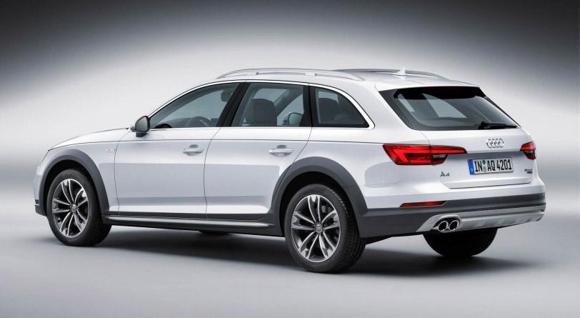 2017 Audi A4 allroad rear view