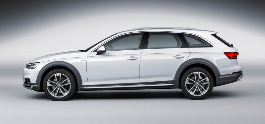 2017 Audi A4 allroad side view