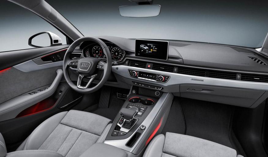 2017 Audi A4 allroad dash view