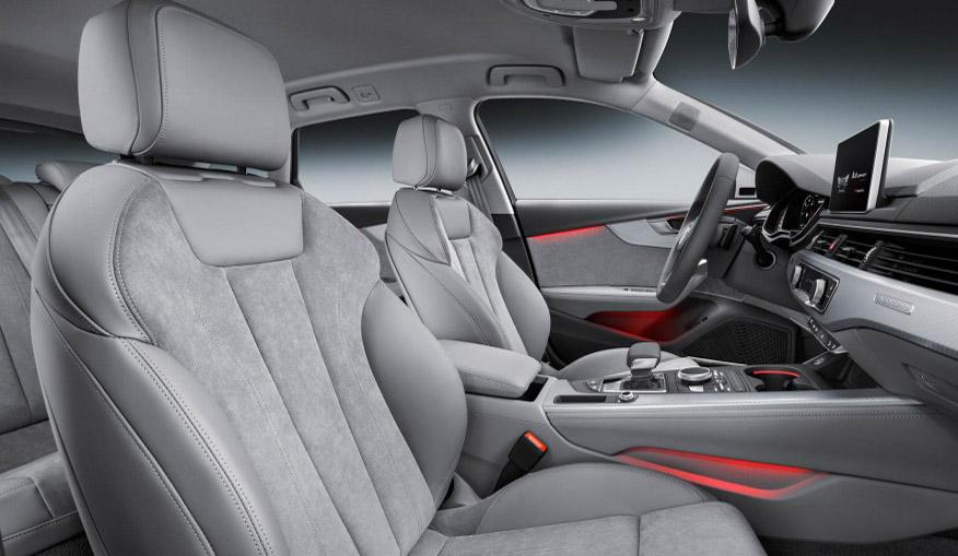 2017 Audi A4 allroad interior view