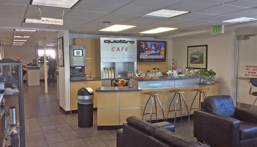 Prestige Imports quattro cafe - 2016