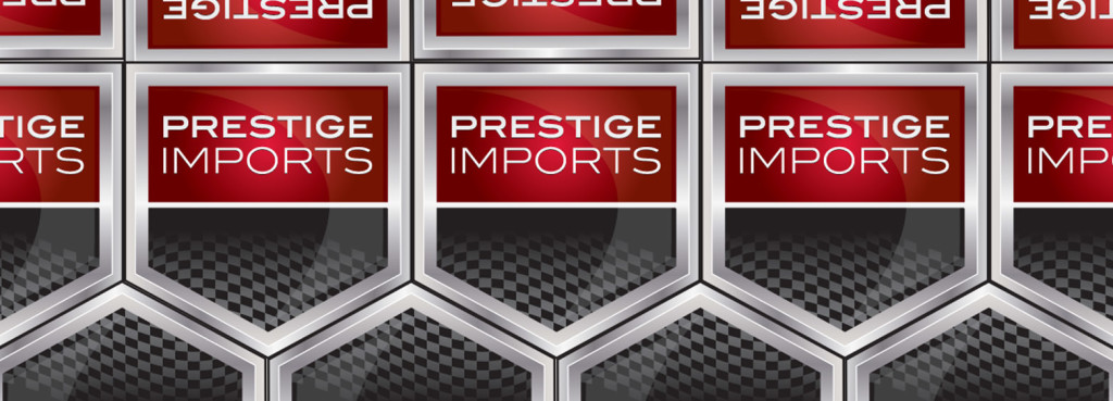 The Prestige Imports Badge