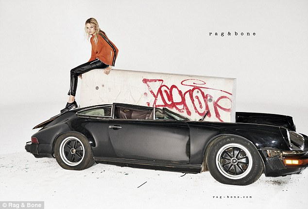 Porsche and Art: Rag and Bone Porsche Ad