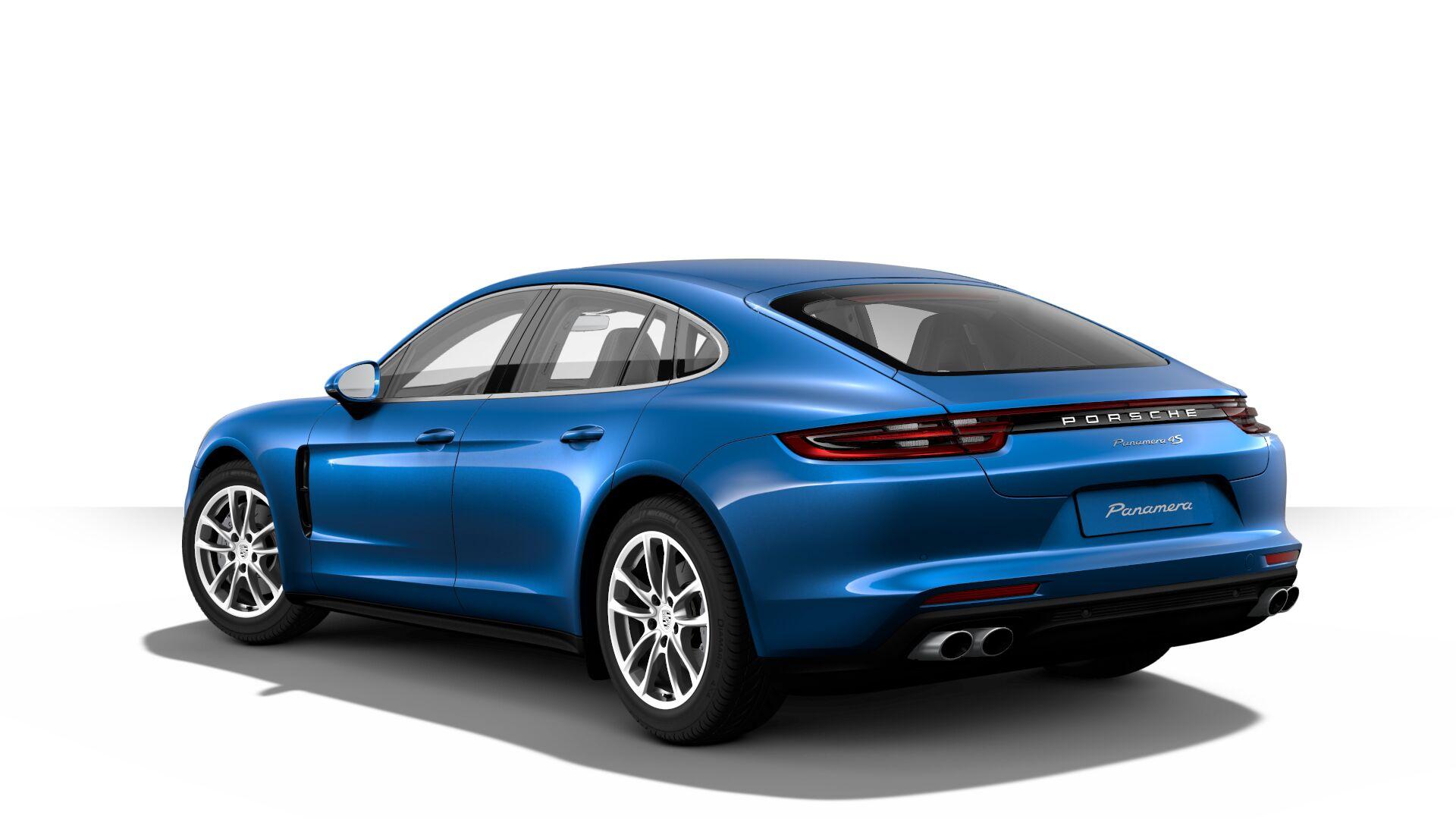 2017 Porsche Panamera Back View