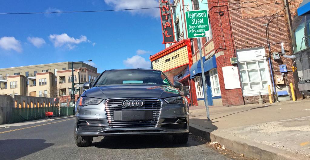 Denver Neighborhood Guide - Audi A3 e-tron and the Berkely neighborhood of Denver, CO