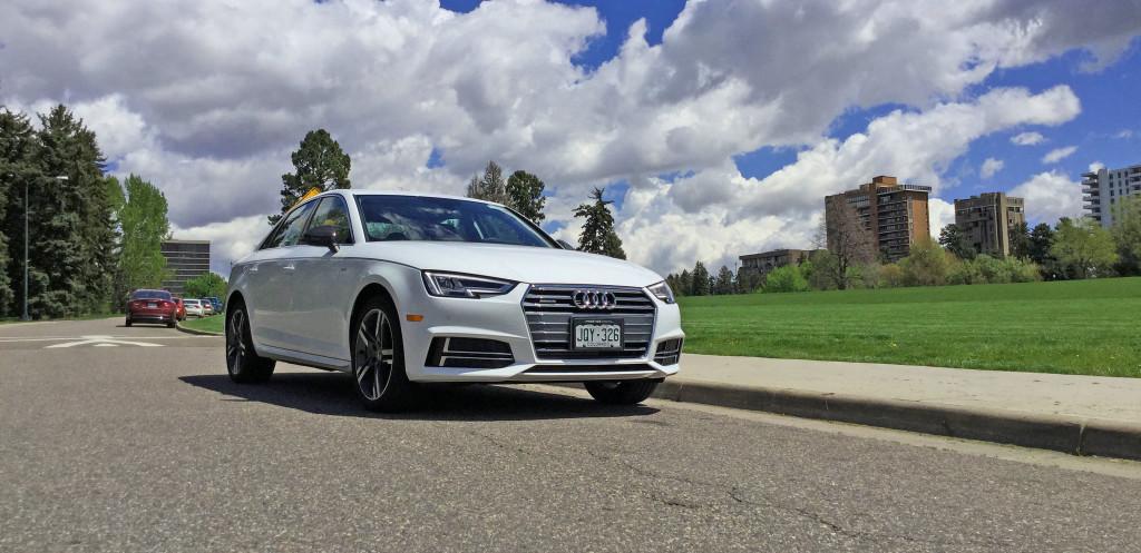 Denver Neighborhood Guide - the Audi A4 and the Cheesman Park neighborhood of Denver, CO