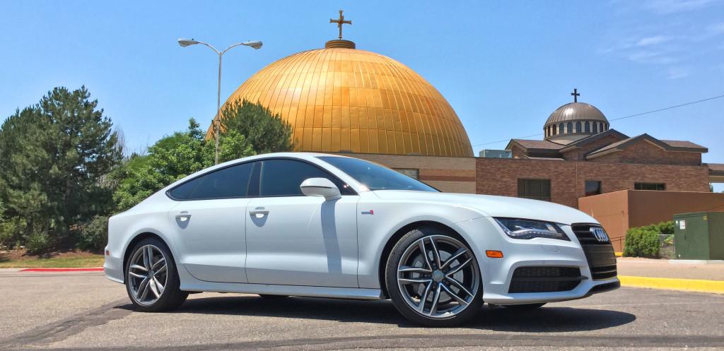 Denver Neighborhood Guide - the Audi A7 and the Hilltop neighborhood of Denver, CO