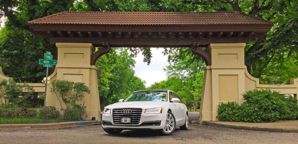 Denver Neighborhood Guide - the Audi A8 and the Country Club District of Denver, CO