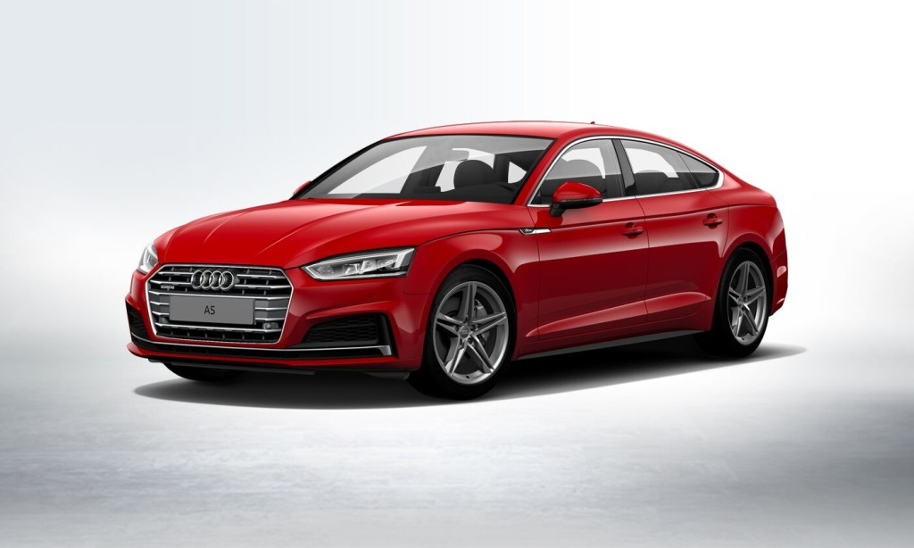 Audi's European Models - the Audi A5 Sportback