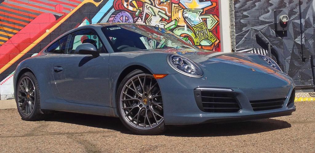 Denver Neighborhood Guide - the Porsche 911 Carrera in Downtown Denver, CO