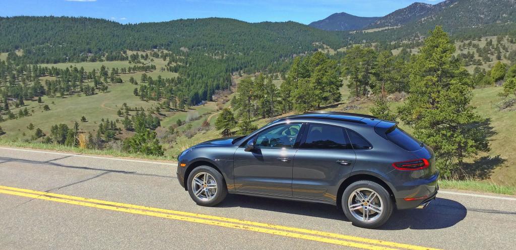 Denver Neighborhood Guide - the Porsche Macan S at White Ranch Park in Golden, Colorado