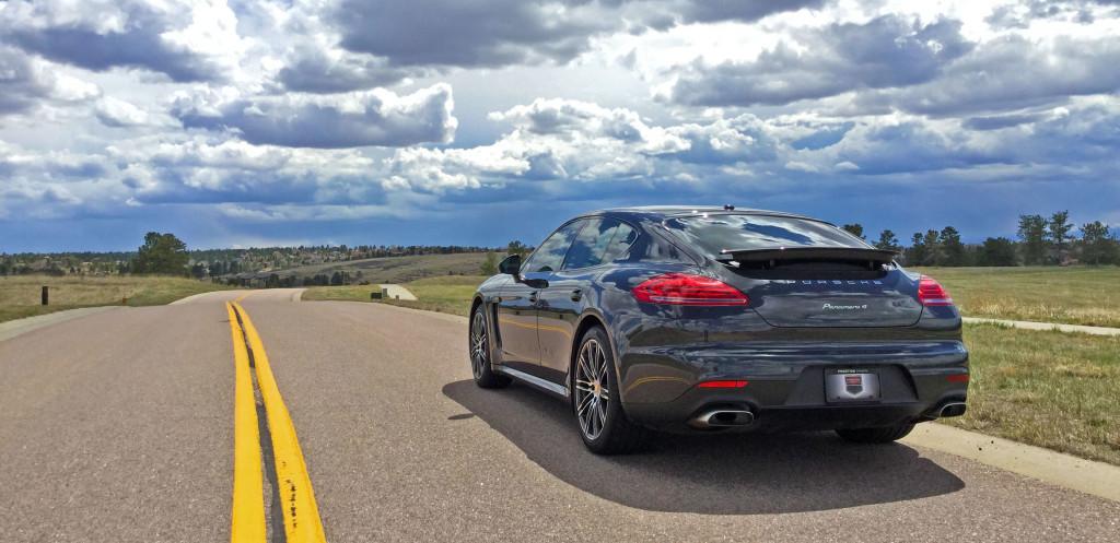 Denver Neighborhood Guide - the Porsche Panamera 4 in Parker, Colorado