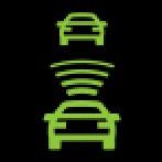 Audi Dashboard Warning Lights - Adaptive cruise control 3 - Green